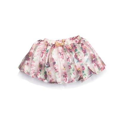 Юбка для девочки размер 26. Цвет сиреневый в Саратове.