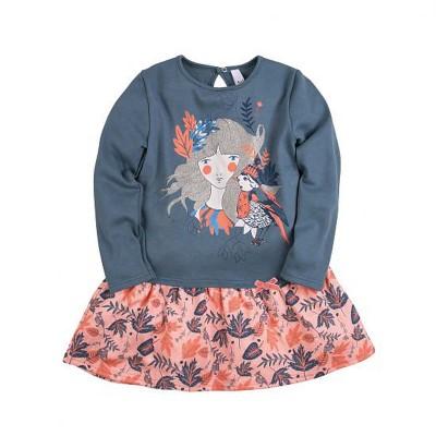 """Платье с принтом """"Чудолес"""" для девочки размер 30, 32 в Саратове"""