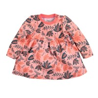 """Платье для девочки принт """"Листья"""" размер 24, 26, 28."""