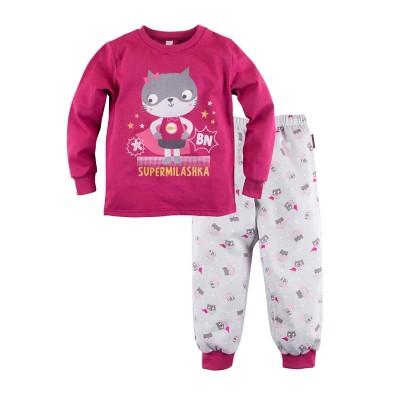 Пижама джемпер и брюки с принтом для девочки размер 30, 34 в Саратове