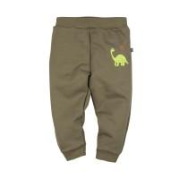 """Брюки с вышивкой """"Динозавр"""" для мальчика размер 24, 26, 28"""