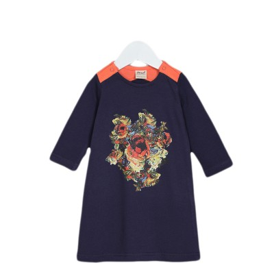 Платье на девочку цвет синий, размер 22, 24, 26 в Саратове.