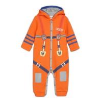 Комбинезон для мальчика цвет оранжевый, размер 20, 22, 24