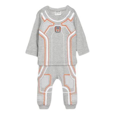 Костюм для мальчика цвет серый меланж, размер 22, 24, 26 в Саратове.