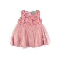 Платье розовое размер 26/28.
