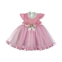 Платье розовое 6-12 месяцев, 1,5 года.