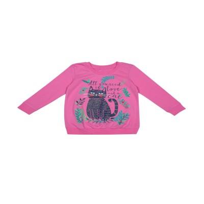 Джемпер на девочку, рост 104,110, розовый в Саратове