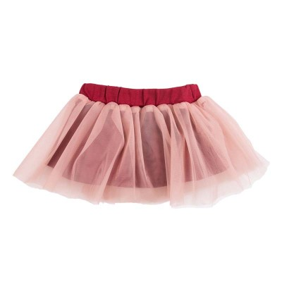 Юбка для девочки цвет бордовый размер 26 в Саратове