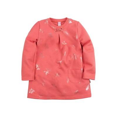 Платье для девочки 'Принт' цвет коралловый размер 26, 28 в Саратове