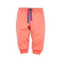 Брюки для девочки цвет оранжевый размер 26,28