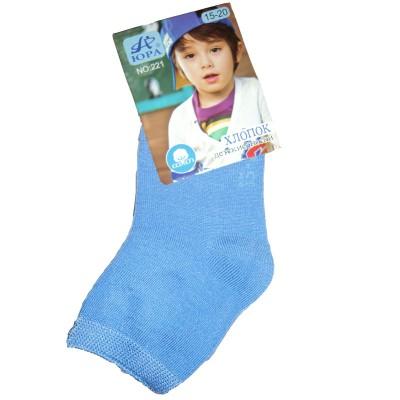 """Носки детские """"Юра"""" от 2-5 лет на мальчика цвет голубой в Саратове"""