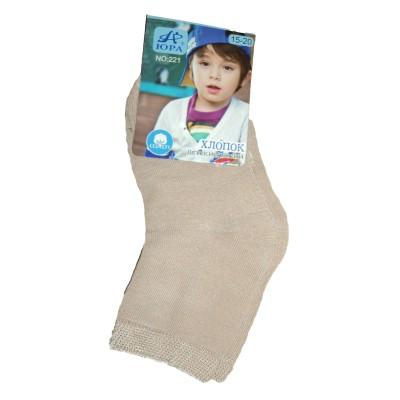 """Носки детские """"Юра"""" от 2-5 лет на мальчика цвет коричневый в Саратове"""