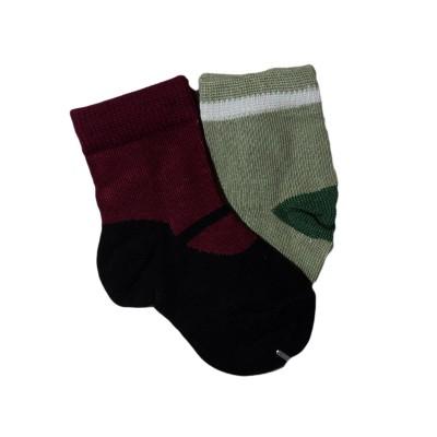 """Носки детские """"LEZHI QUWEI"""" от 0-3 мес парные цвет светлозеленый в Саратове"""