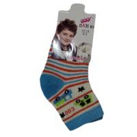 """Носки детские """"Ланю"""" на мальчика 0-3 лет цвет голубой"""